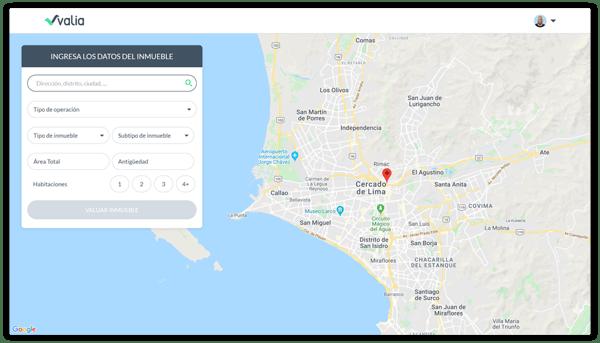 mapa y filtros